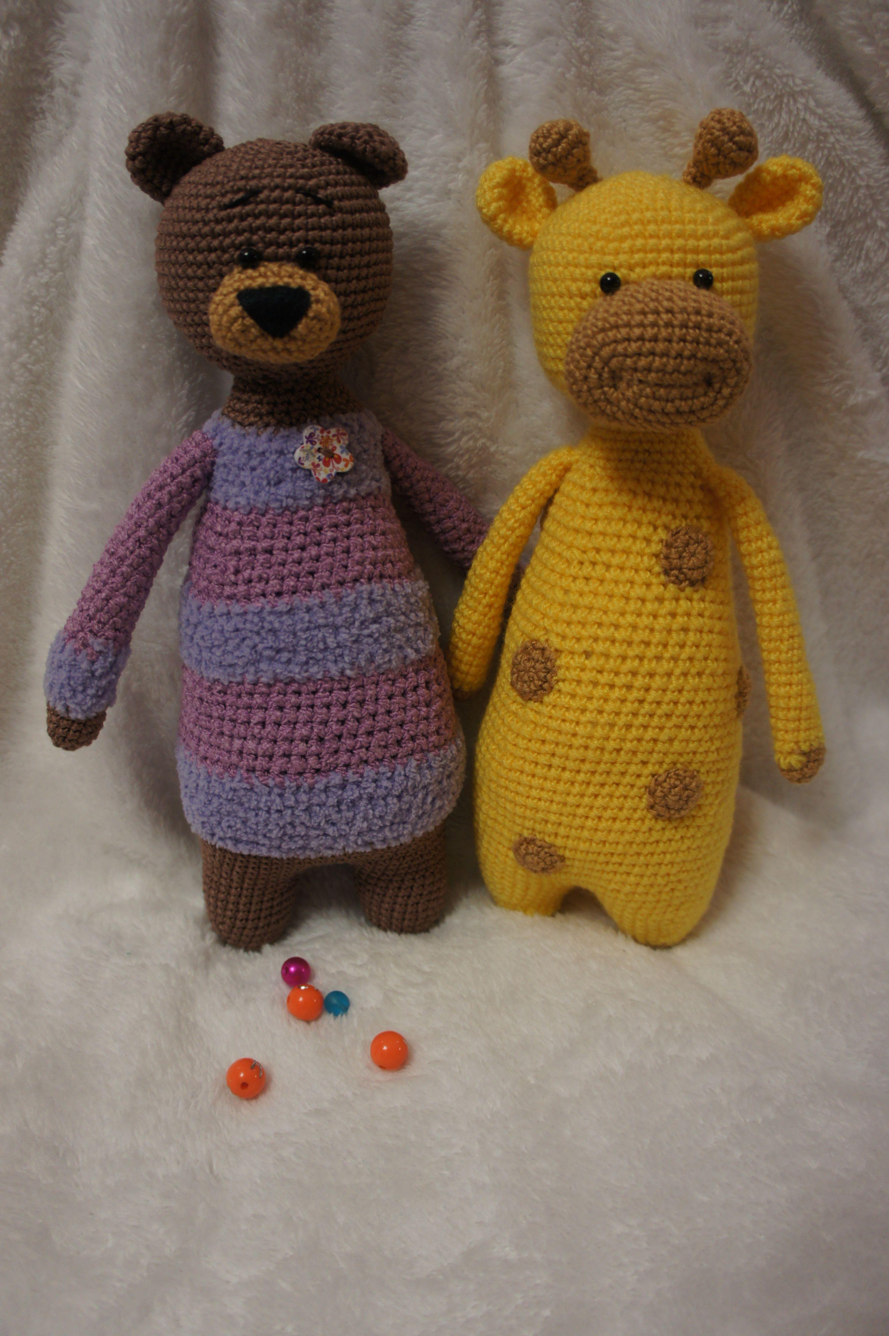 игрушки ручная работа вязание