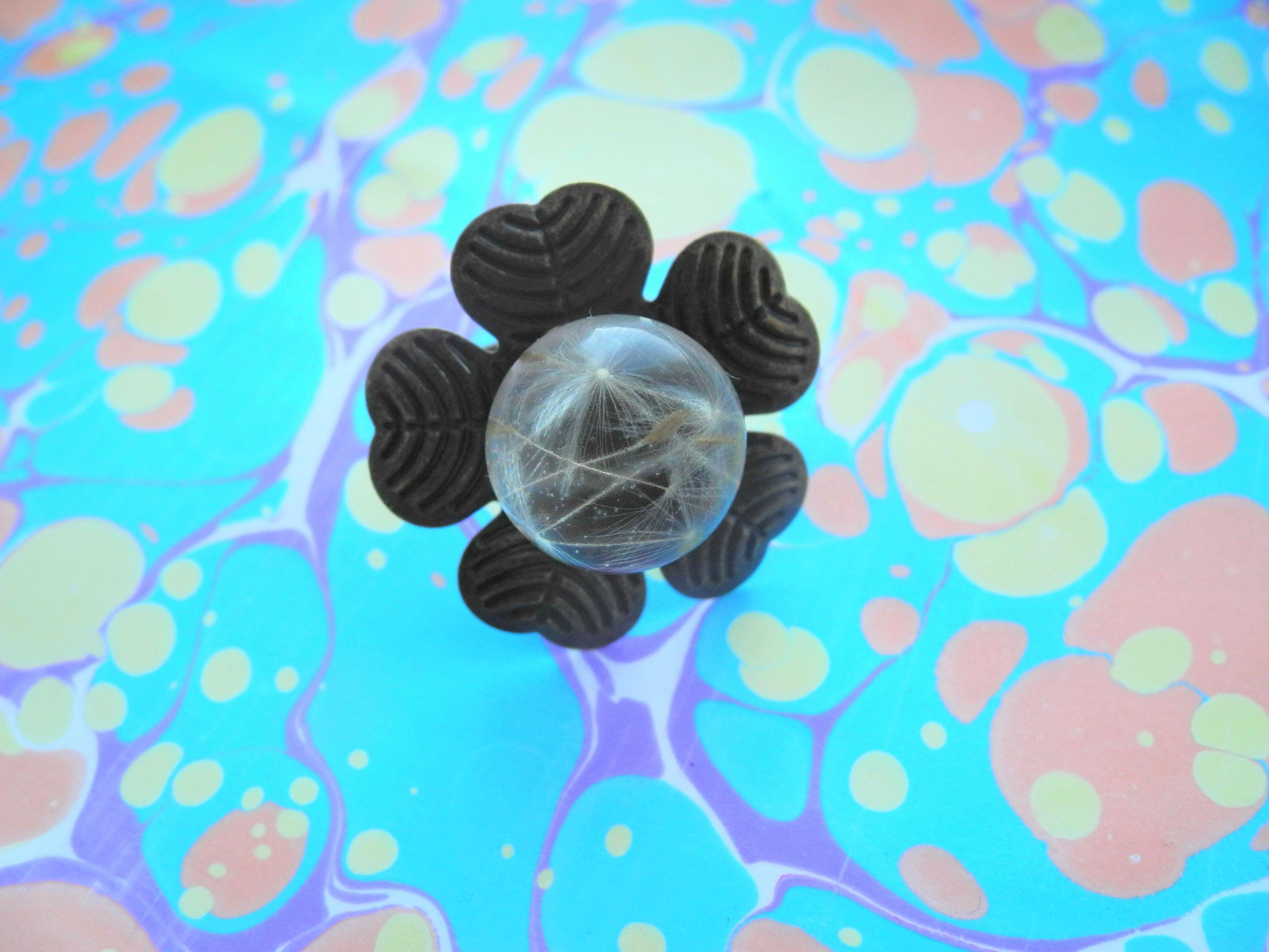 бижутерия своимируками сухоцветы украшения handmade кольцо белоусоваанна подаркиручнойработы proglina эпоксиднаясмола