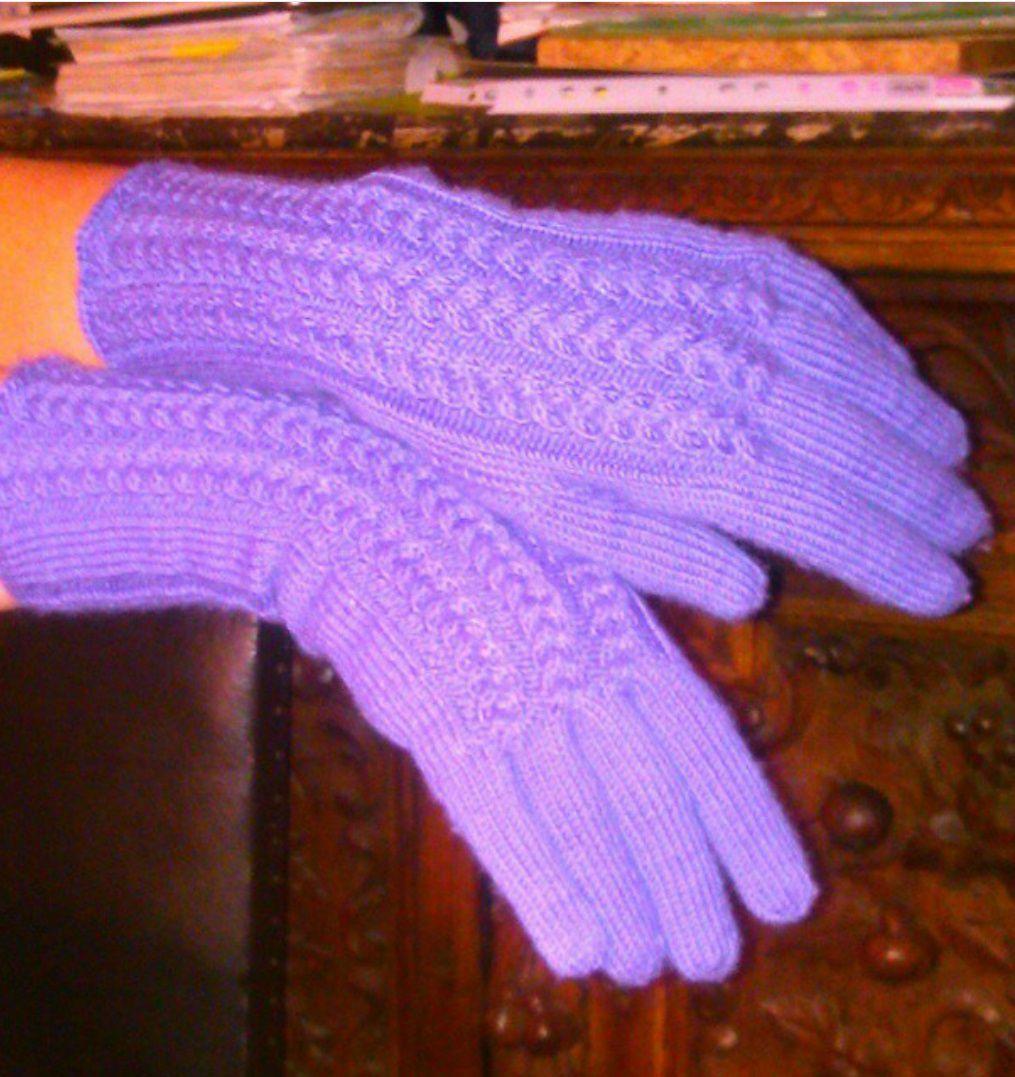 перчатки ручнаяработа тепло зима