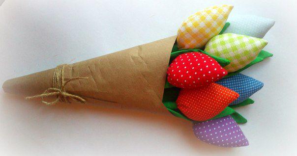 подруге 8 цветов маме букет тильда рождения день на девушке текстильные марта тюльпаны цветы подарок