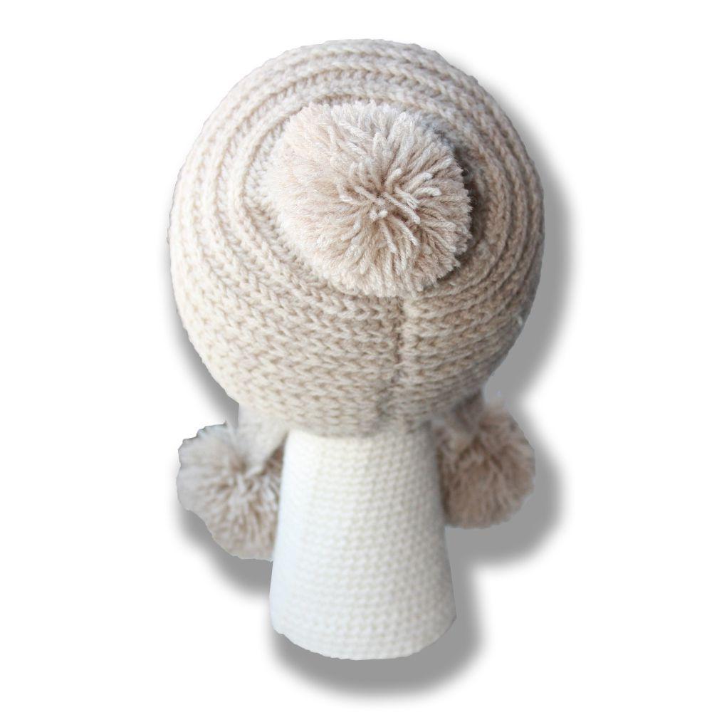 шапка-ушанка связанное шляпы купить и милая подвеска шапочка детям аксессуары помпонами ручная с работа шапки спицами мягкая шапка детские морковка зайчик связанные продажа детская
