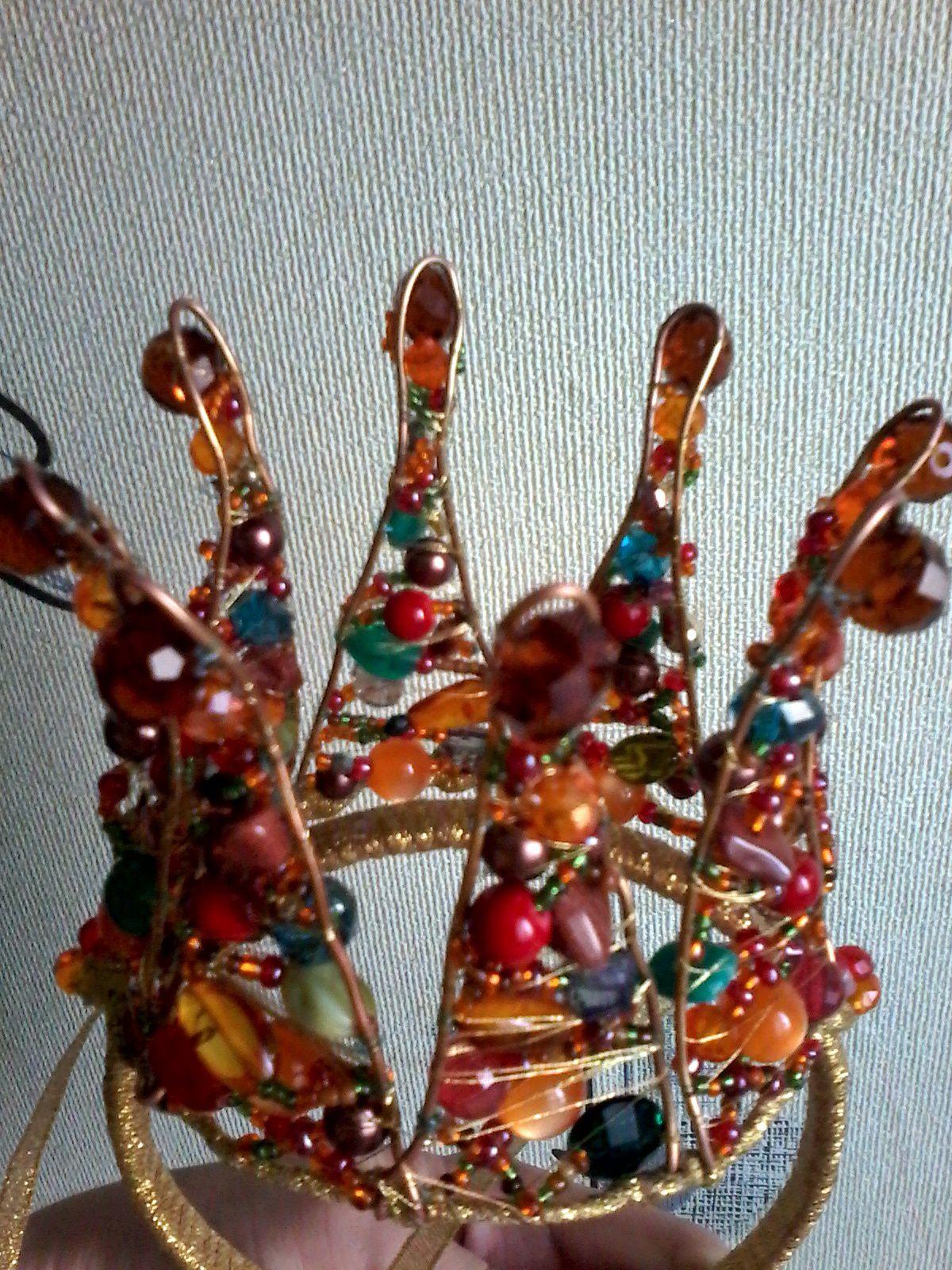 handmade украшениядляволос ободок корона коронадляпринцесс украшения аксессуары