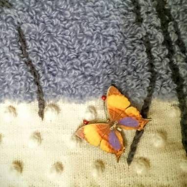 handmade бабочки свитер женский valentino мериносашерсть купить подарок ручнаяработа