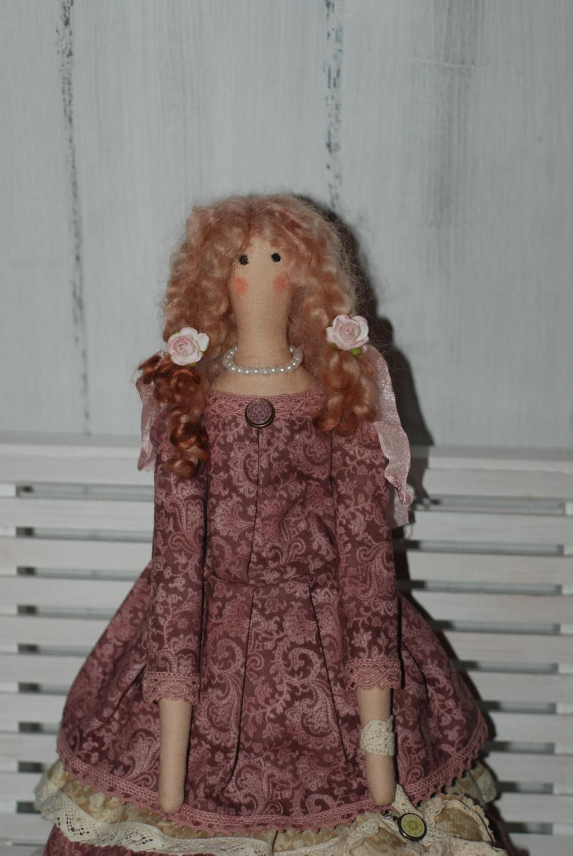 недорого стиле тильду кукла тильда интерьерная в купить текстильная