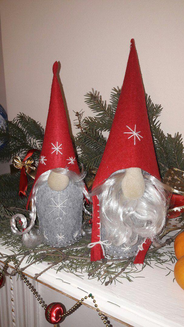ручнаяработа из интерьерныеигрушки детям гномы handmade праздники ткани подарки