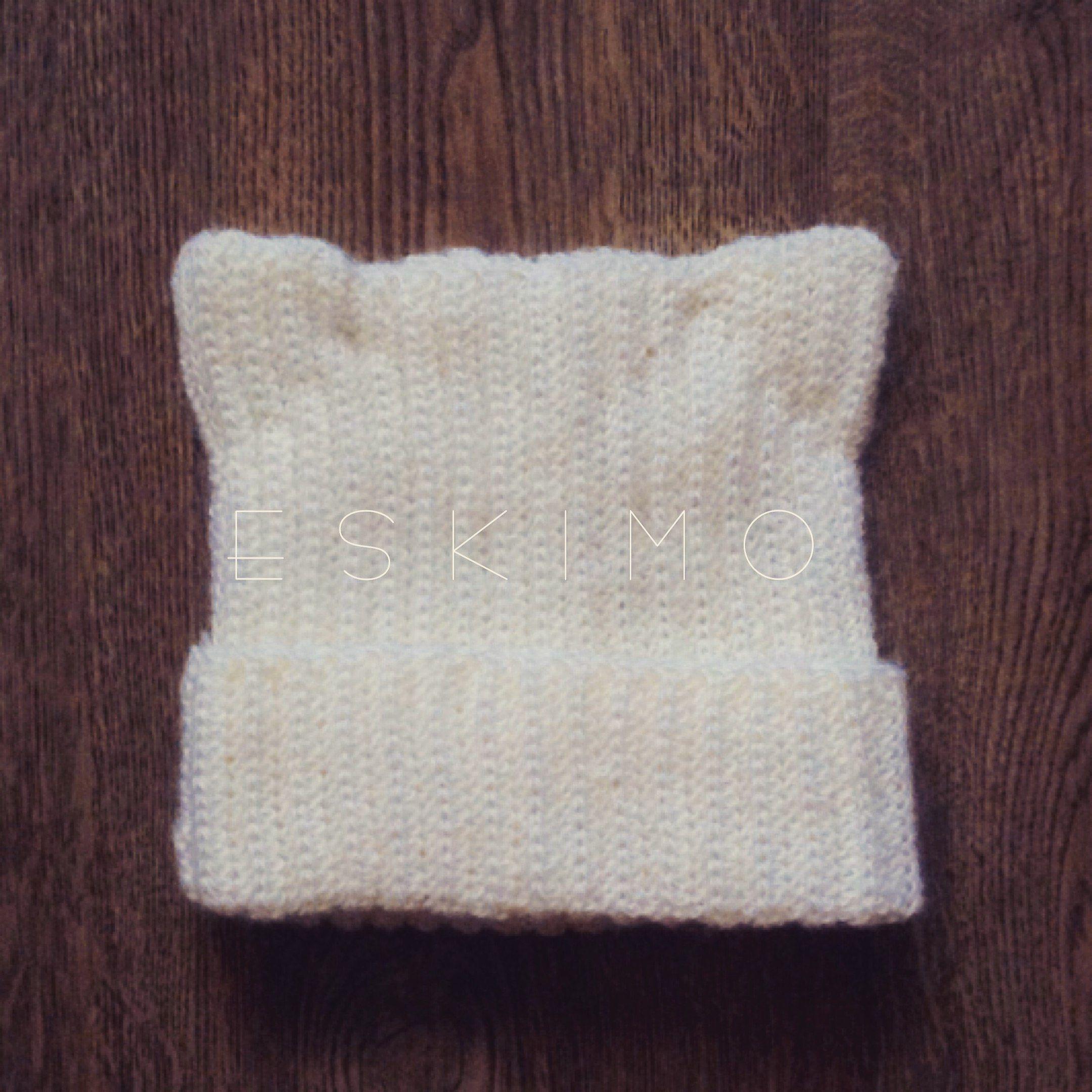 котик крючок вязание зима шапка тепло белый крючком