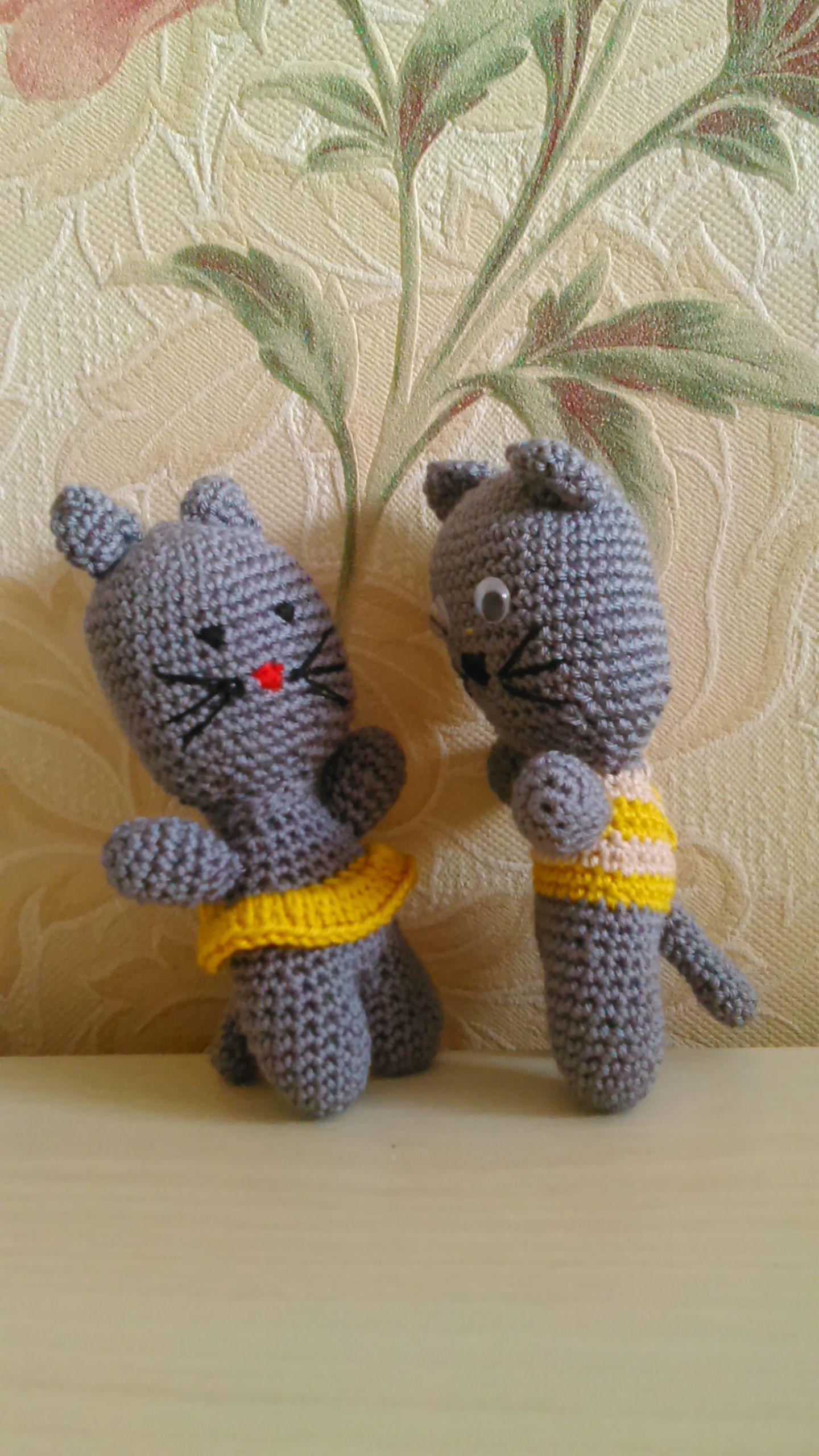 вязаная вязание ручная игрушка амигурами детям крючком работа