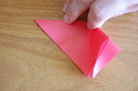 Оригами из бумаги цветы 9