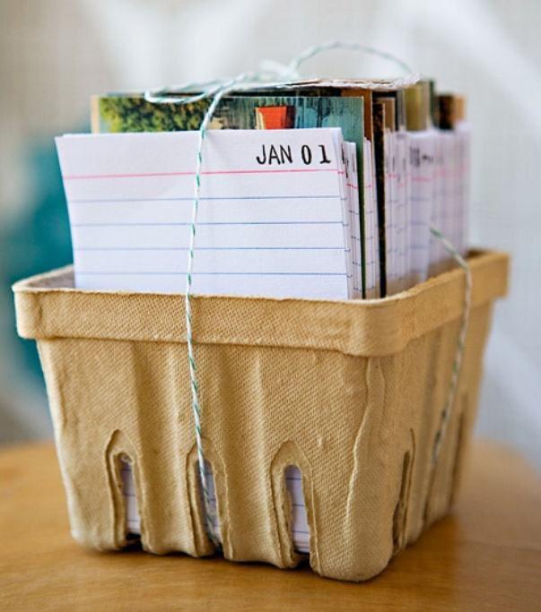 Календарь на год своими руками 6