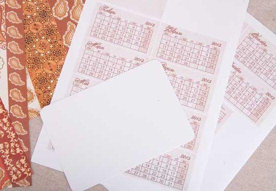 Календарь своими руками 4