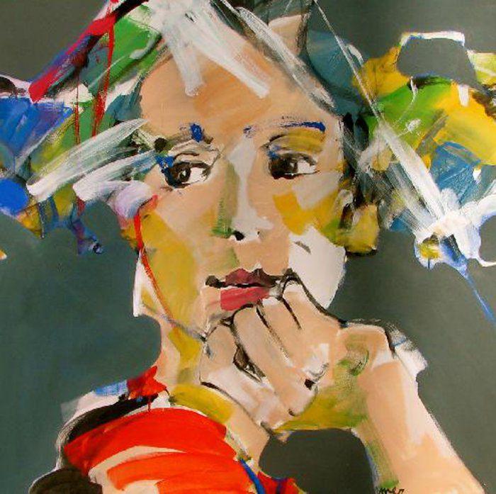 вдохновение рисование художник картина