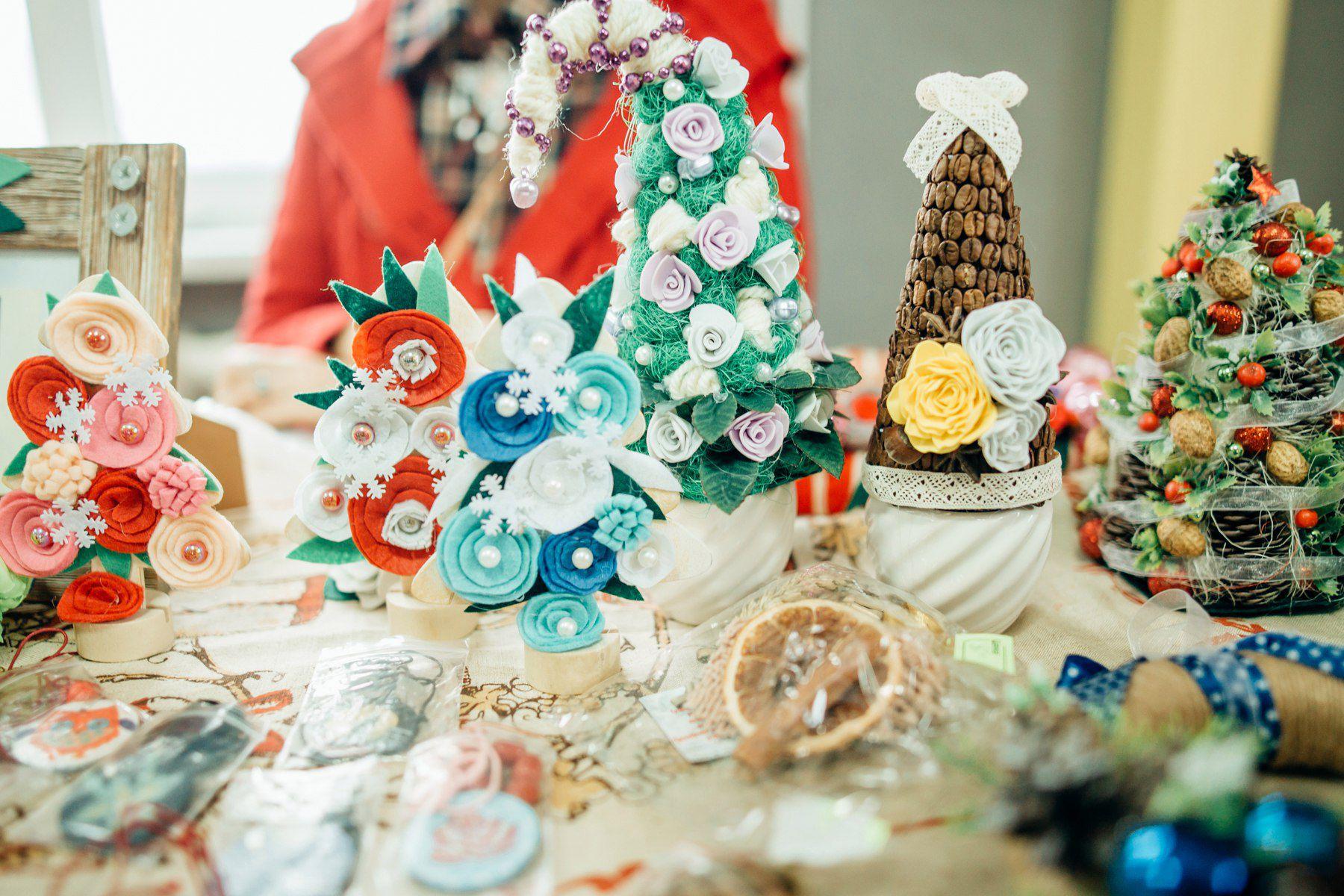 новогодняя сезон зима мастеркласс выставка рукоделие