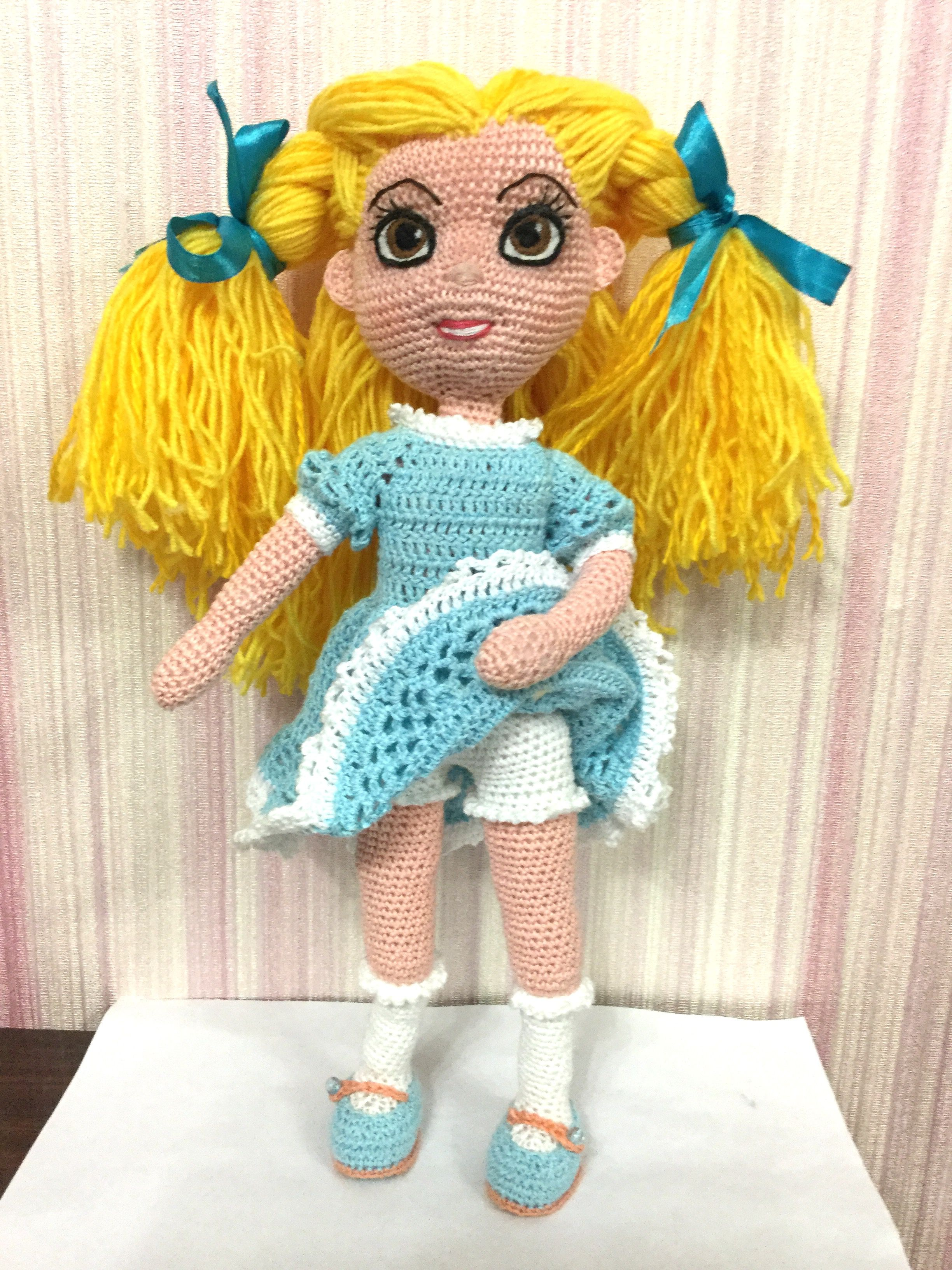 крючкомамигурумиподарок девочкедети вязаная куклакукла