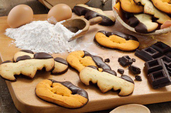 печенье кулинария мастеркласс праздник хэллоуин