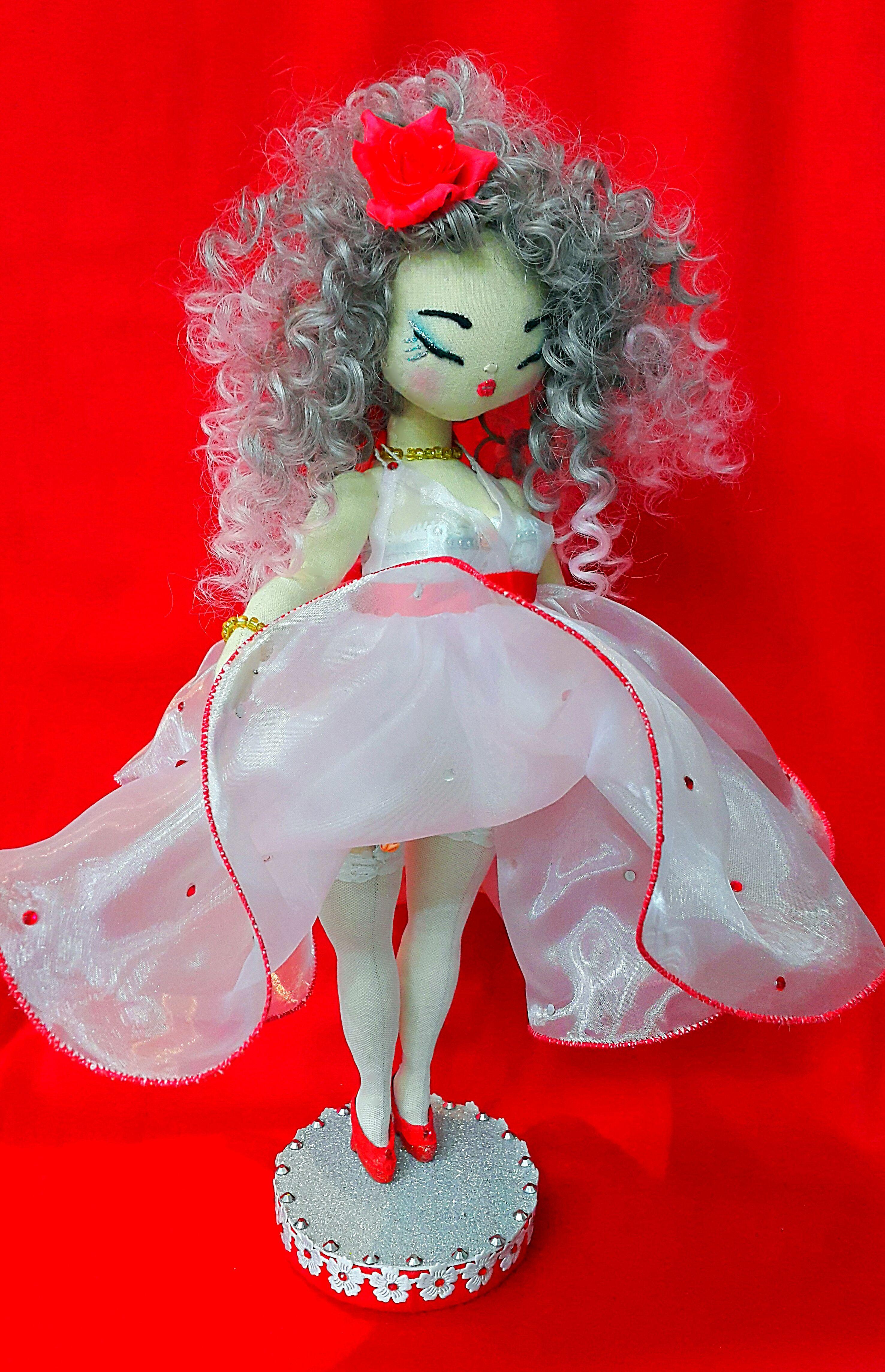 работытекстильная куклаинтерьернаяручной