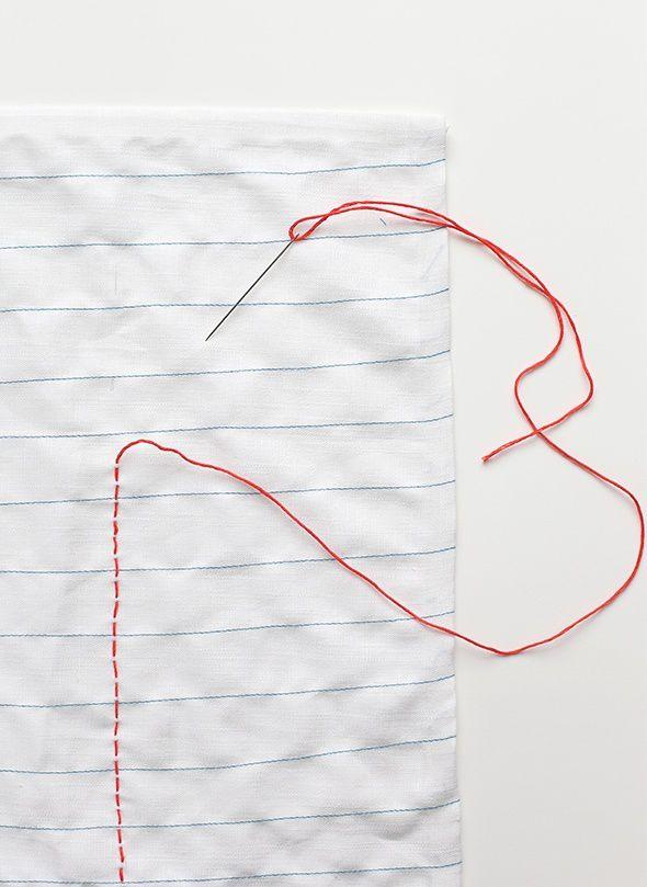 офис шитьё салфетка ткань вышивка школа идея