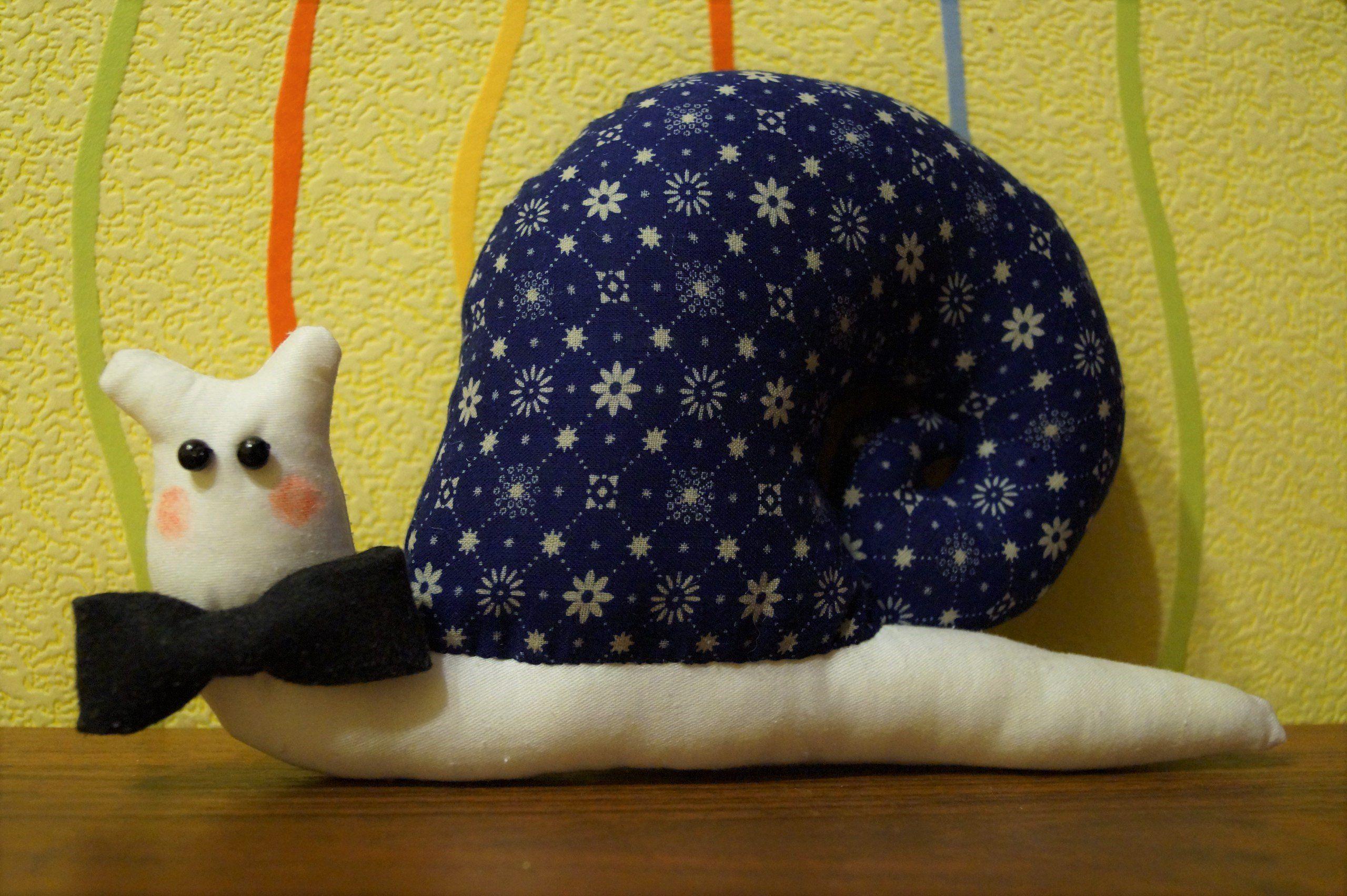 firitaeshop игрушка handmade улитка