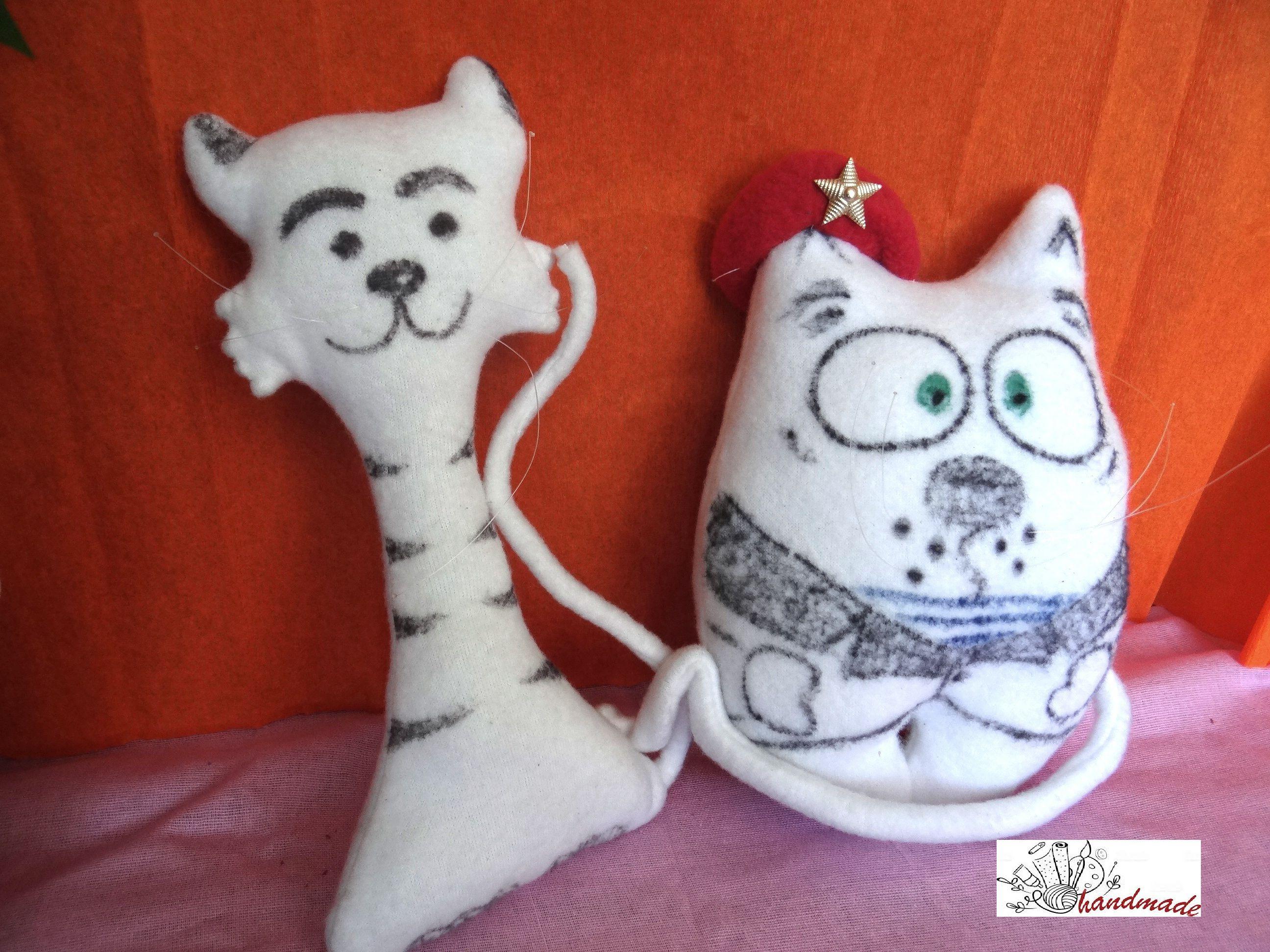 коты кот игрушки мягкие
