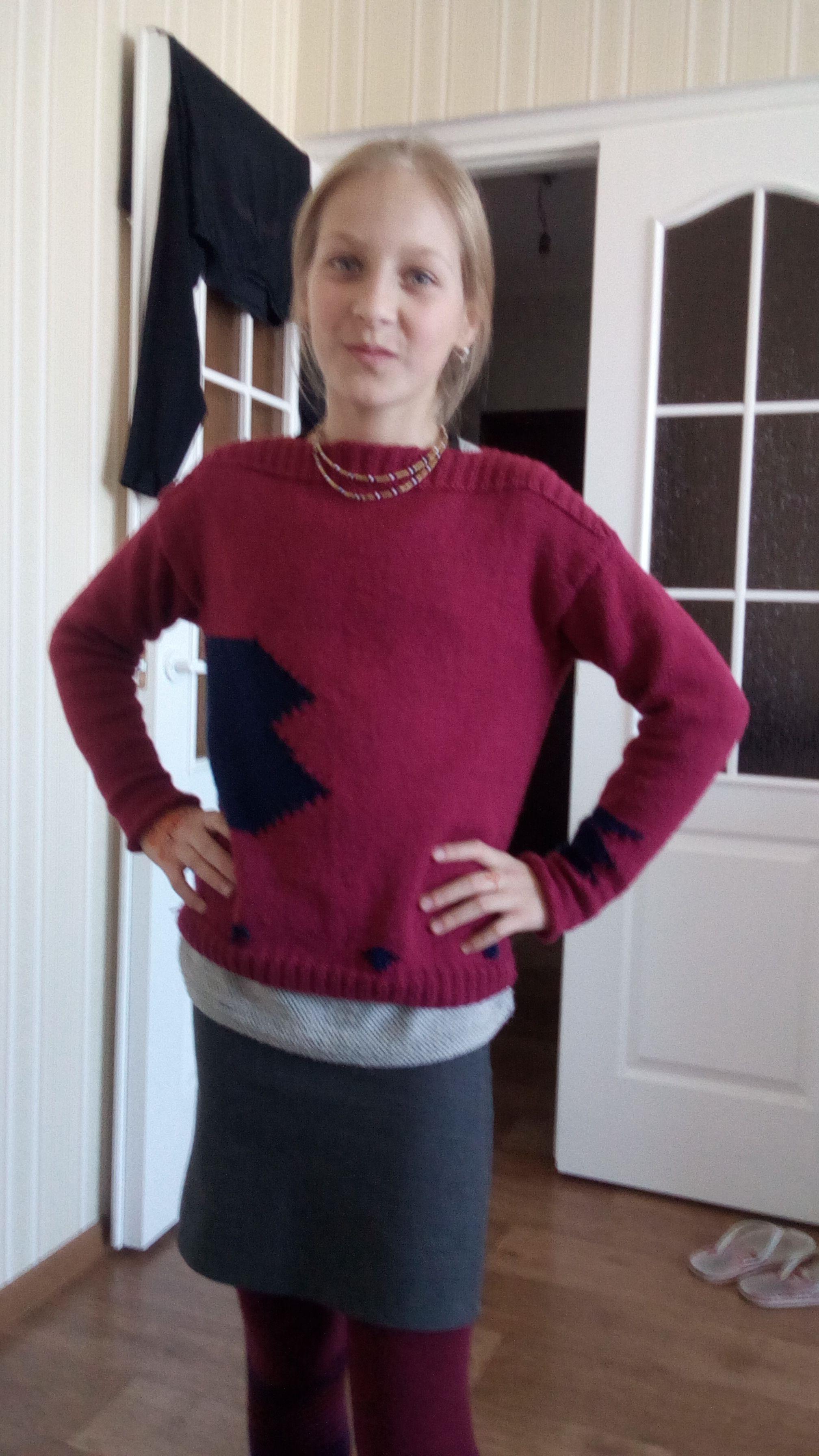 связанная связанный свитер одежда