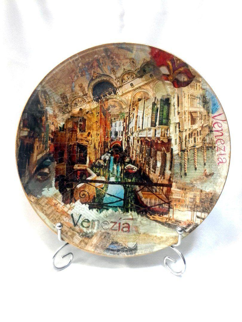 мастеркласс декупаж декоративная тарелка