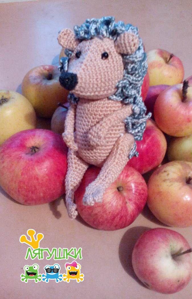 hedgehog сказкинаночь мягкийёж softtoy мягкаяигрушка ёжик трилягушки stuffedtoy crochet вязаниекрючком