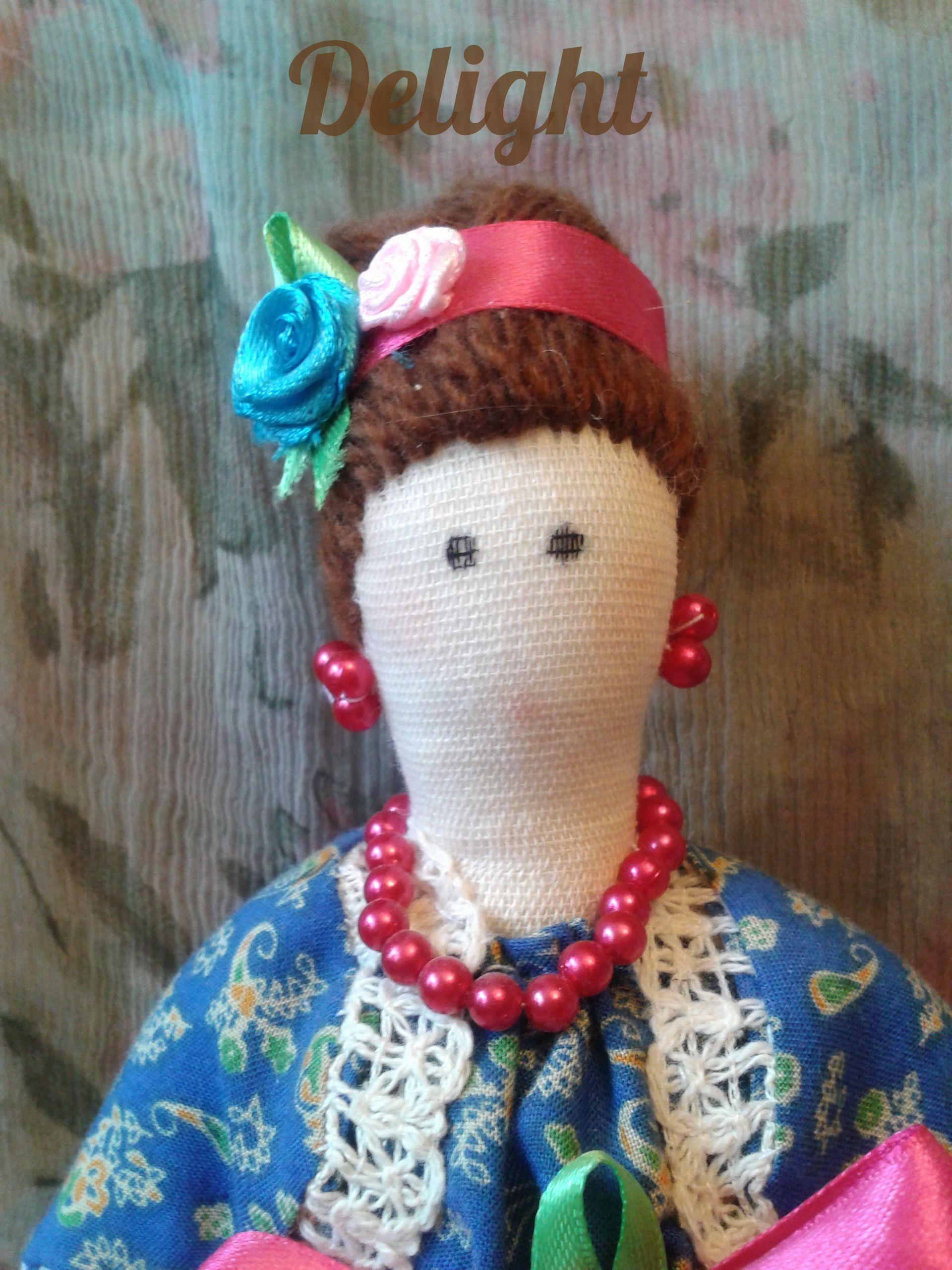 delight куклавстилетильда подарок кукла толстушка интерьер тильда