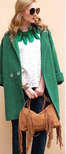 женская одежда пальто вязаная