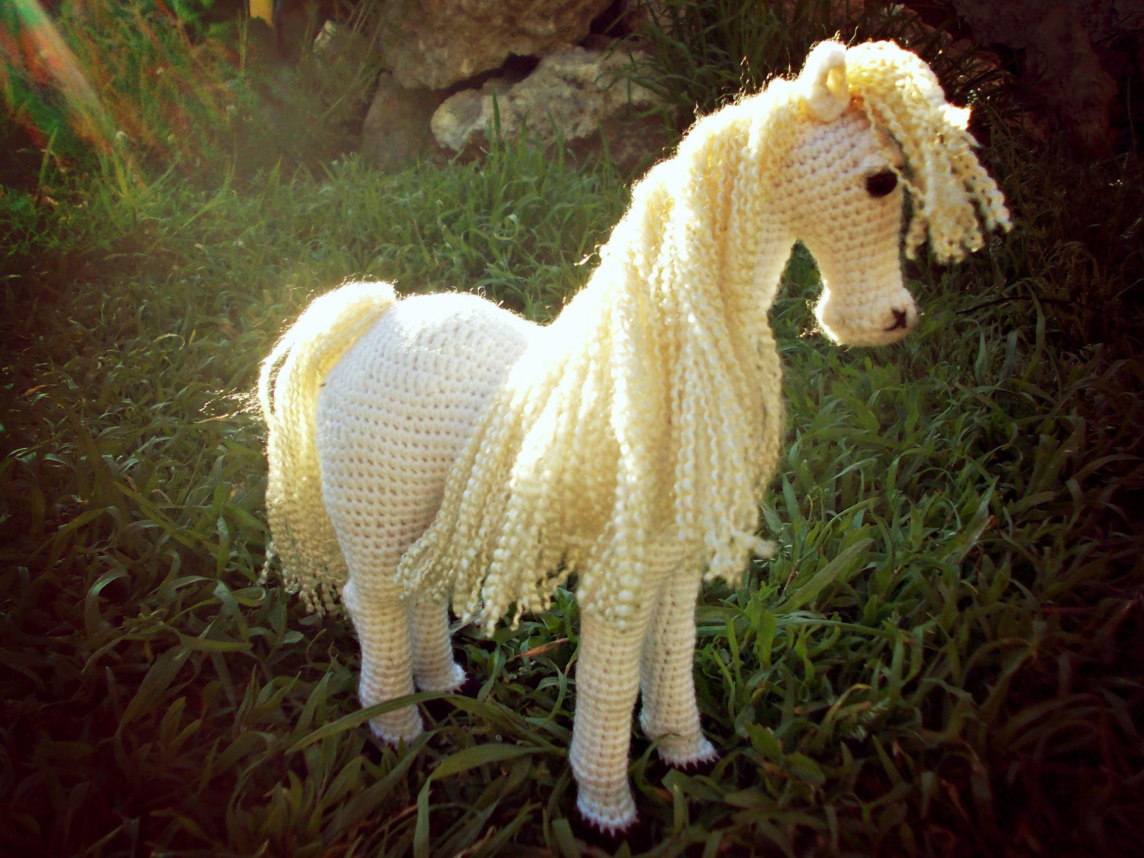 амигуруми лошадка подарок игрушка
