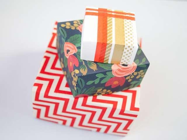 Как сделать подарочную коробку своими руками 2