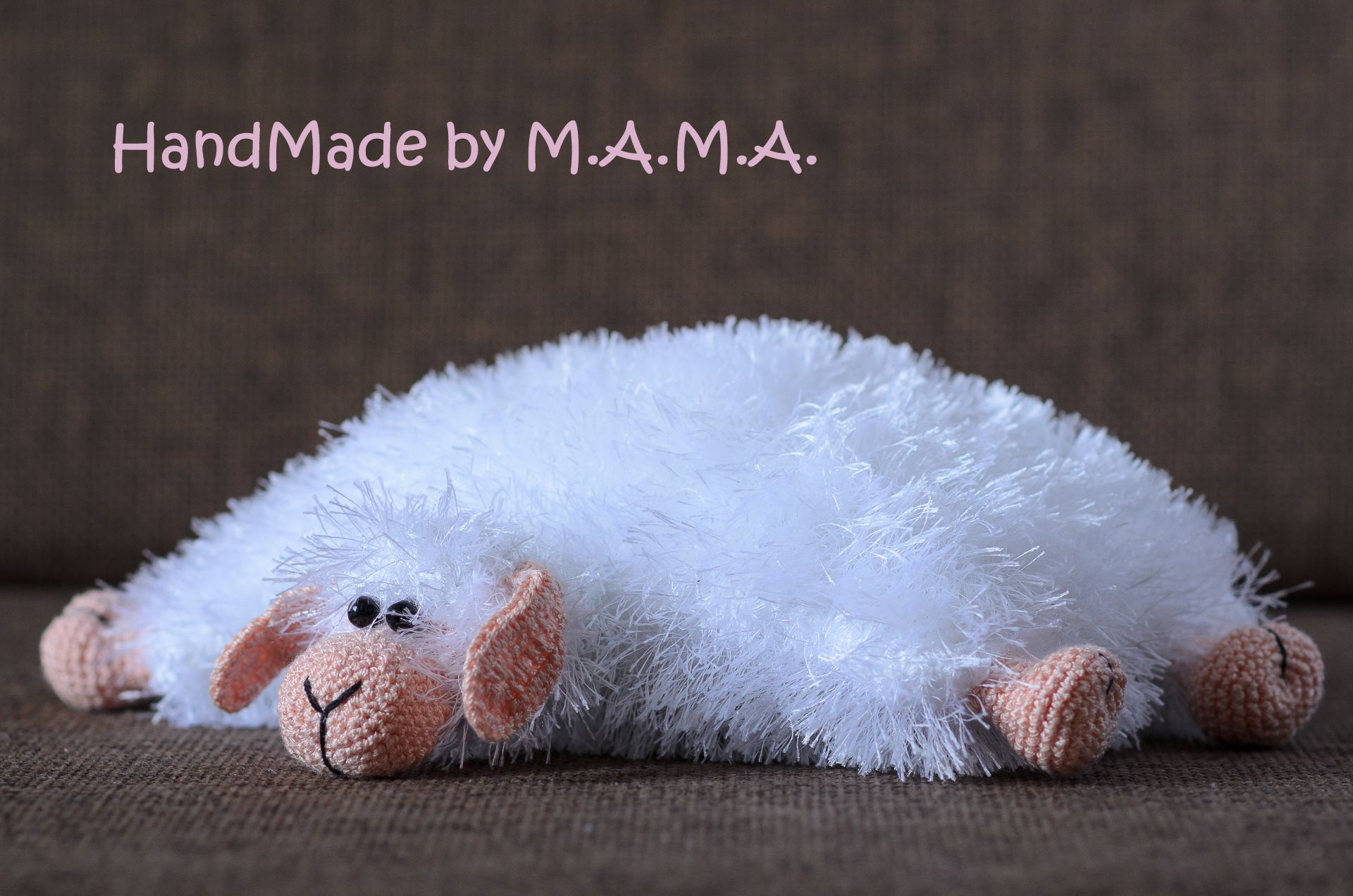 овечка игрушка подушка