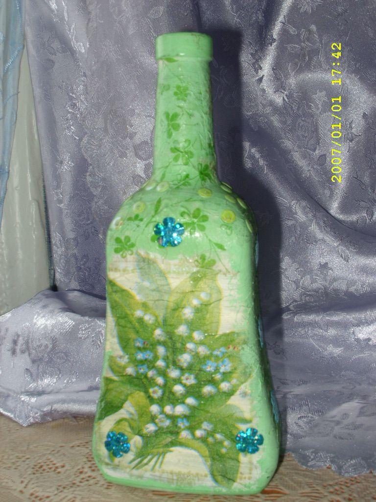 бутылки декупаж подарки