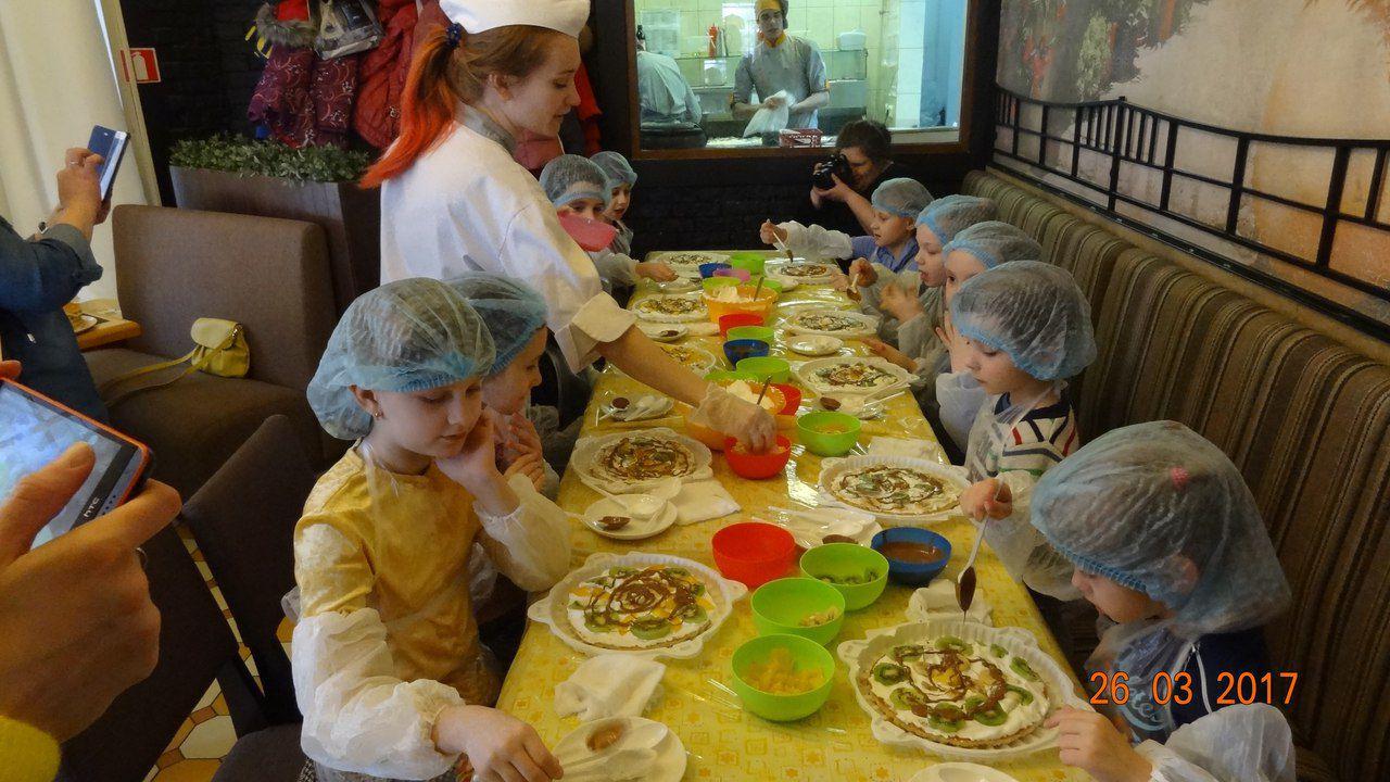 готовят детская питере кухня дети