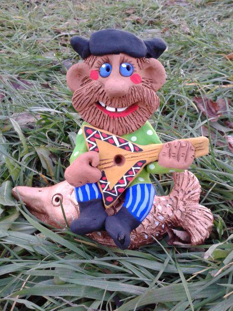 дом игрушки человек кутузов сувенир интерьер творчество русский глины подарок