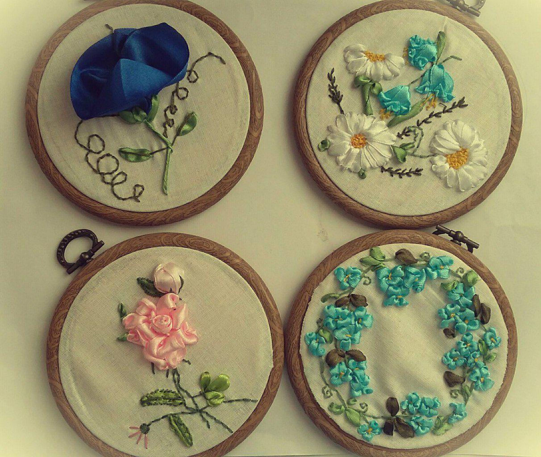 миниатюра красота интерьер вышивка вышивкалентами декор картина
