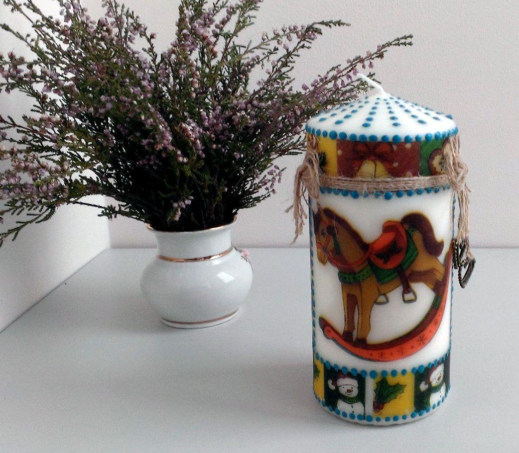 pointtopoint винтаж зима2016 красотавдеталях cheerfulstore декупаж подарки handmade свечи декор ручнаяработа