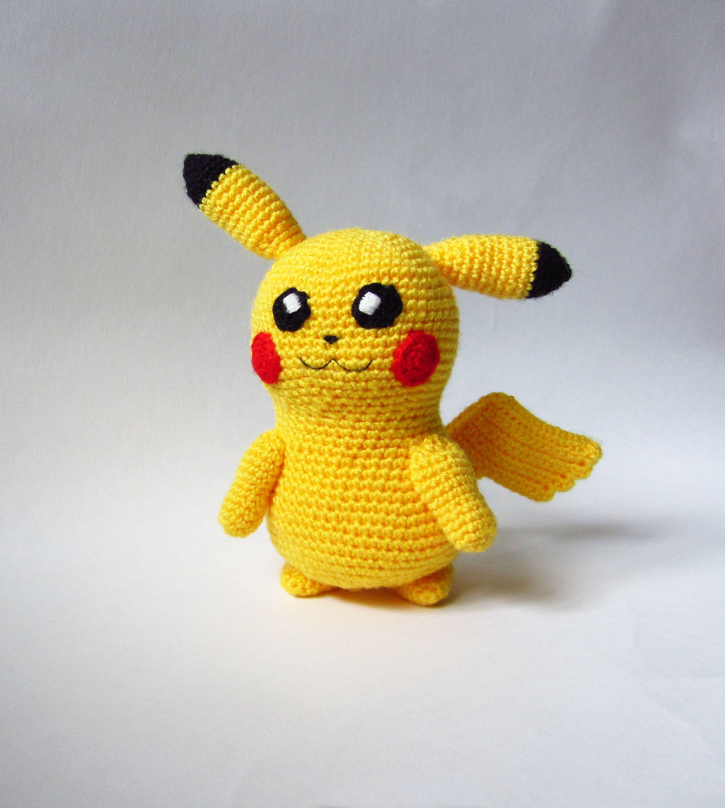 handmade аниме покемон pokemon pikachu игрушкавязаная пикачу ручнаяработа
