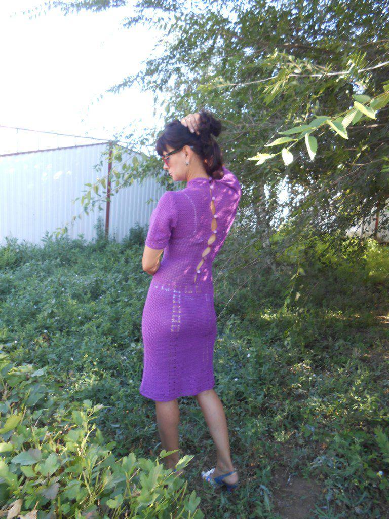 крючком молодежная платье летнее вязание вязанное мода связано