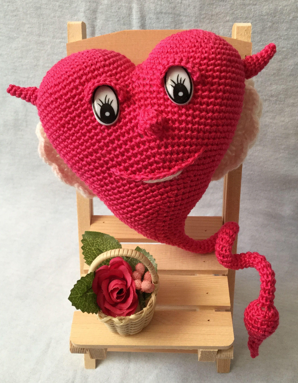 ручнаяработа сердце игрушка