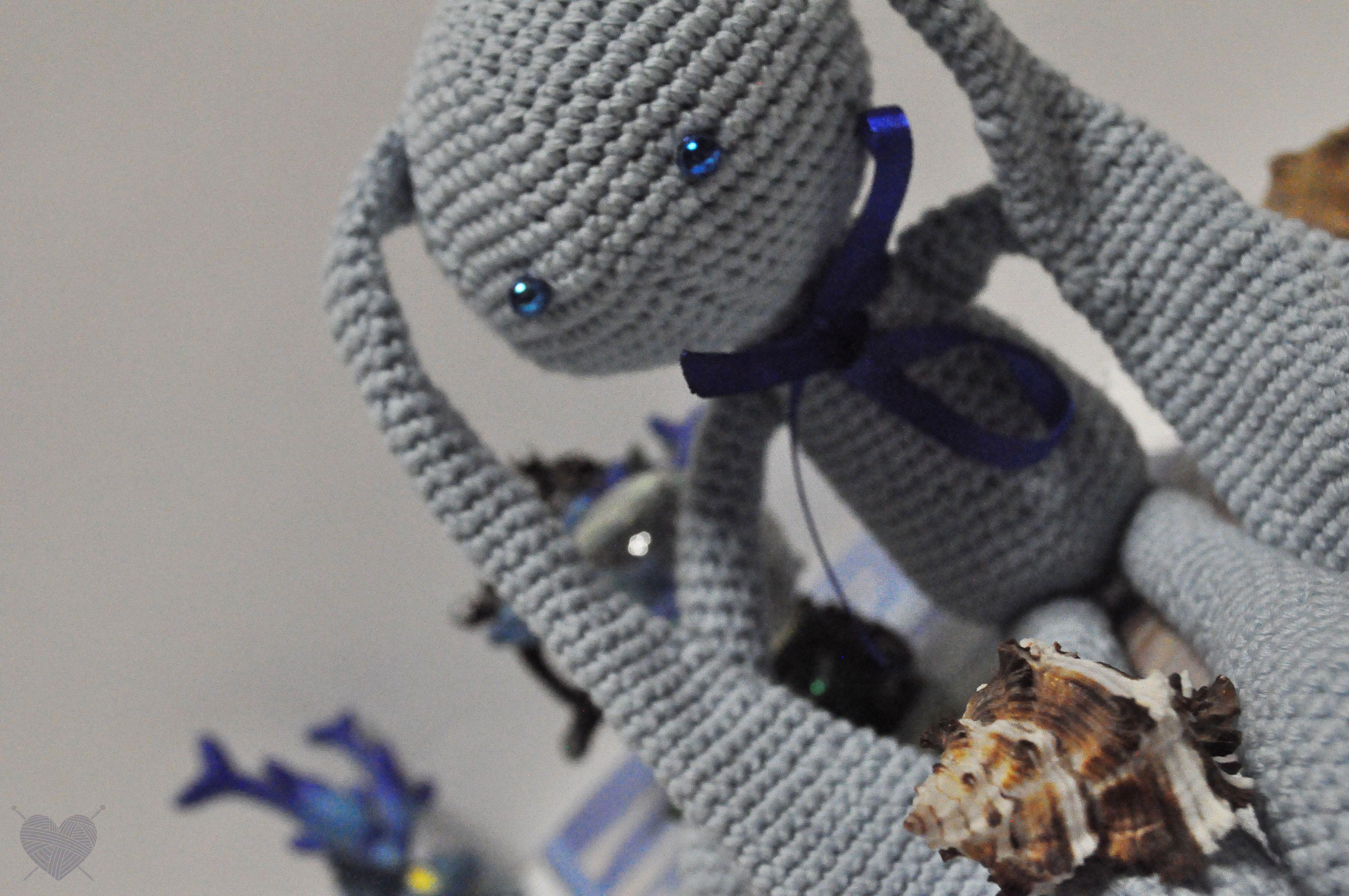 вязаныеигрушки заяц голубойзаяц вязаныйзаяц амигуруми вязаниекрючком вязаниедлядетей