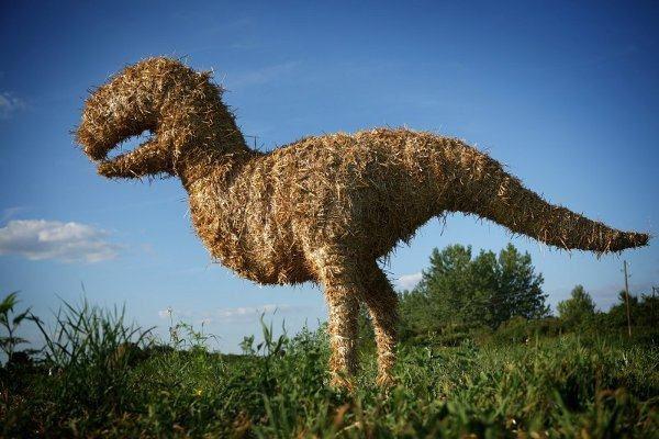 лендарт динозавр современноеискусство необычное