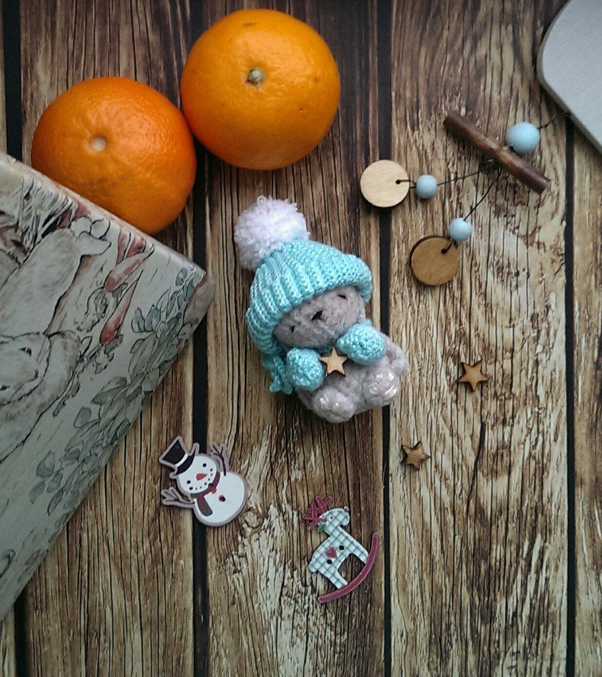 ручнаяработа подарок амигуруми интерьернаяигрушка вязаннаяигрушка зайка