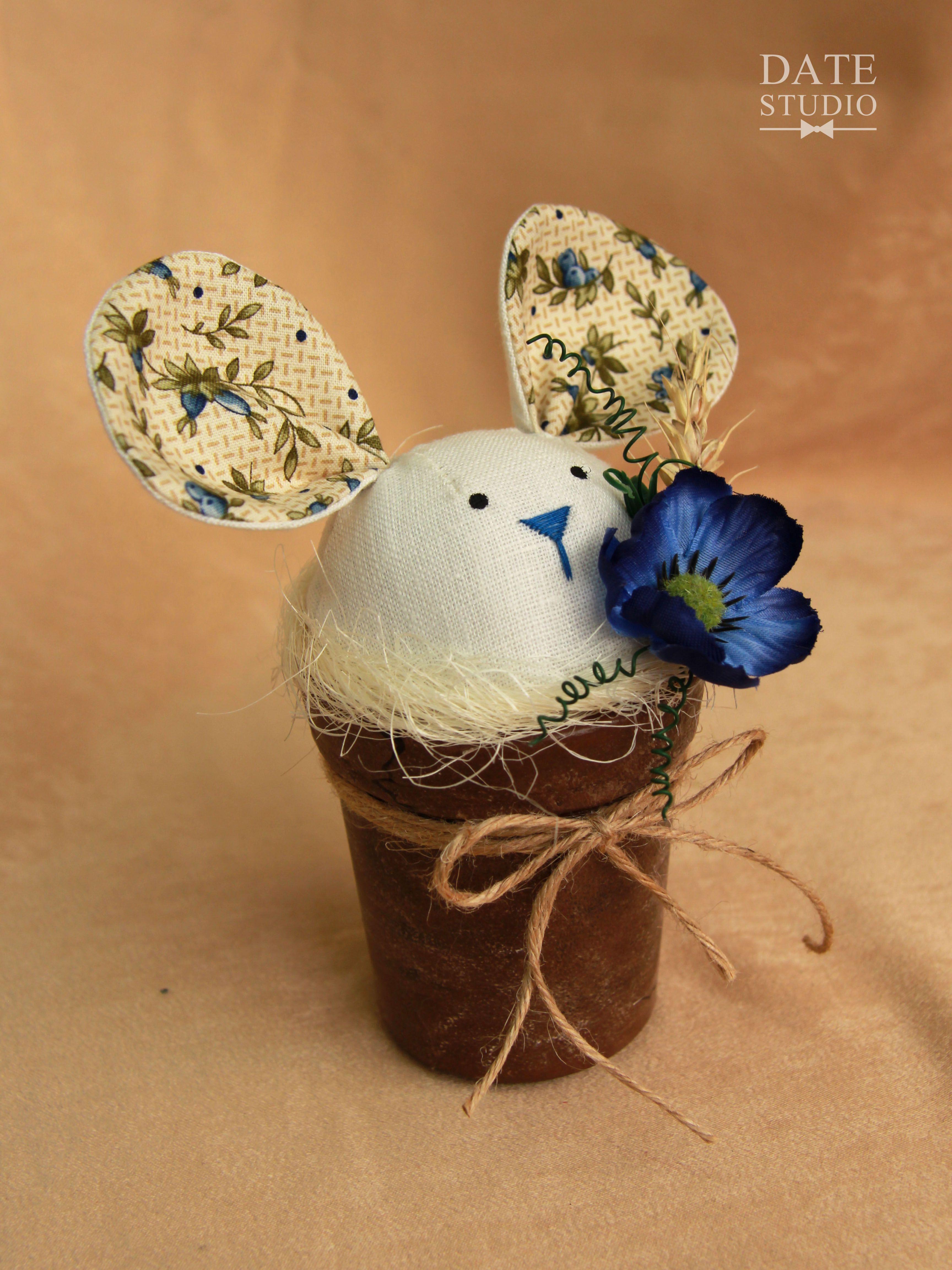любимой девушке зайка сувенир мышка подарок