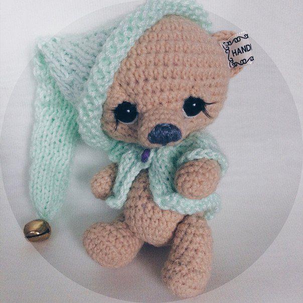 handmade подарокдетям амигуруми bear мишкаигрушка ручнаяработа