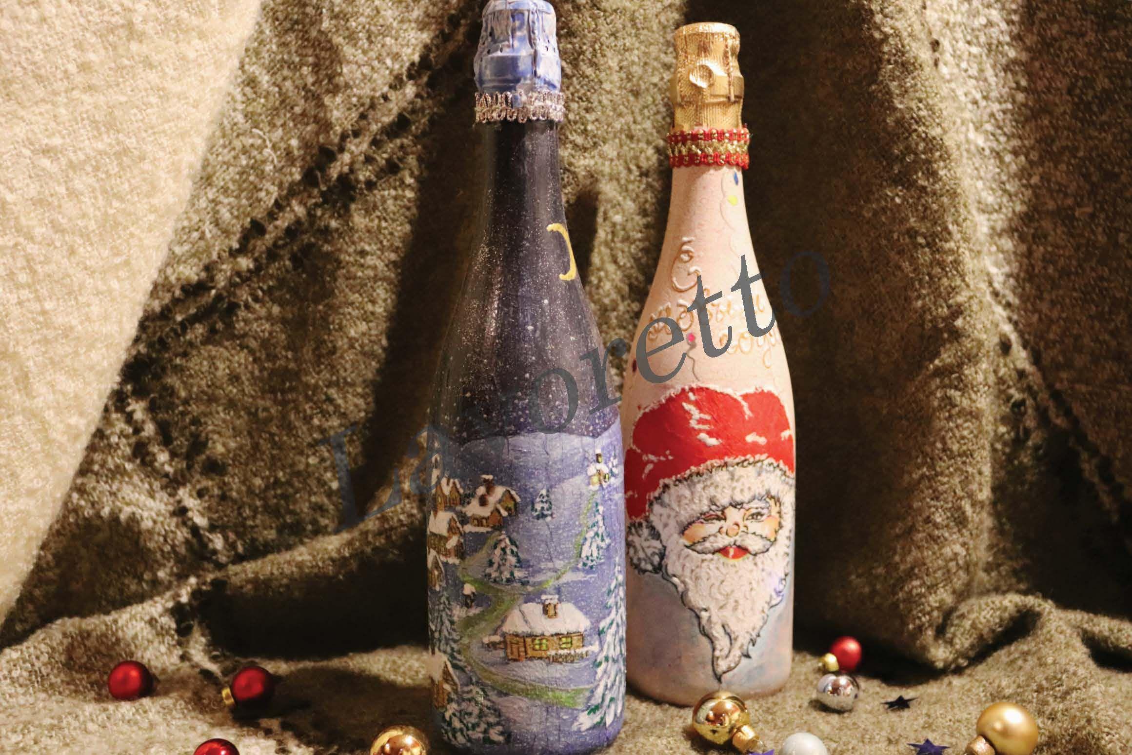 рождество новыйгод подарок бутылка