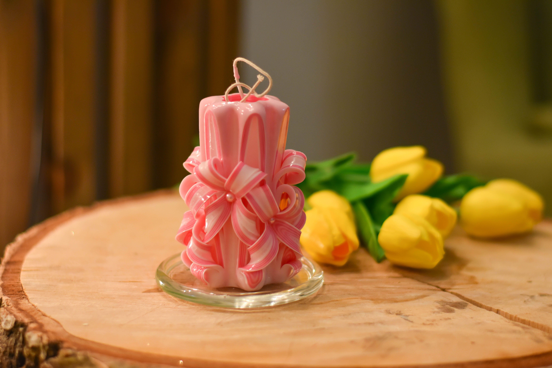 ручнаяработа свеча подарок резныесвечи свечи украшение праздник уют красивыесвечи резнаясвеча свадьба