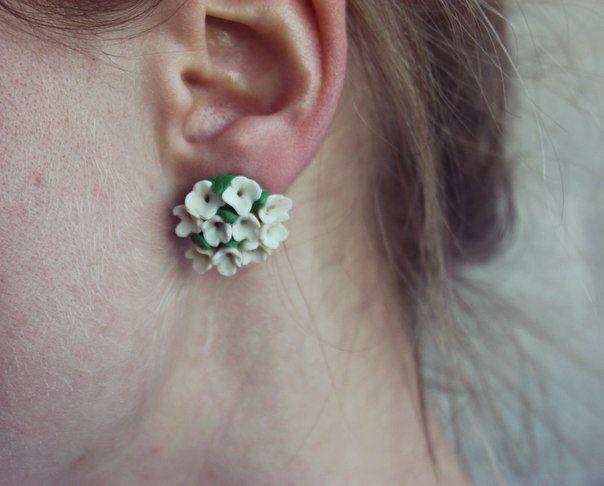 нежно ухо кольца уши модно сережки украшения серьги свадьба кольцо ручнаяработа