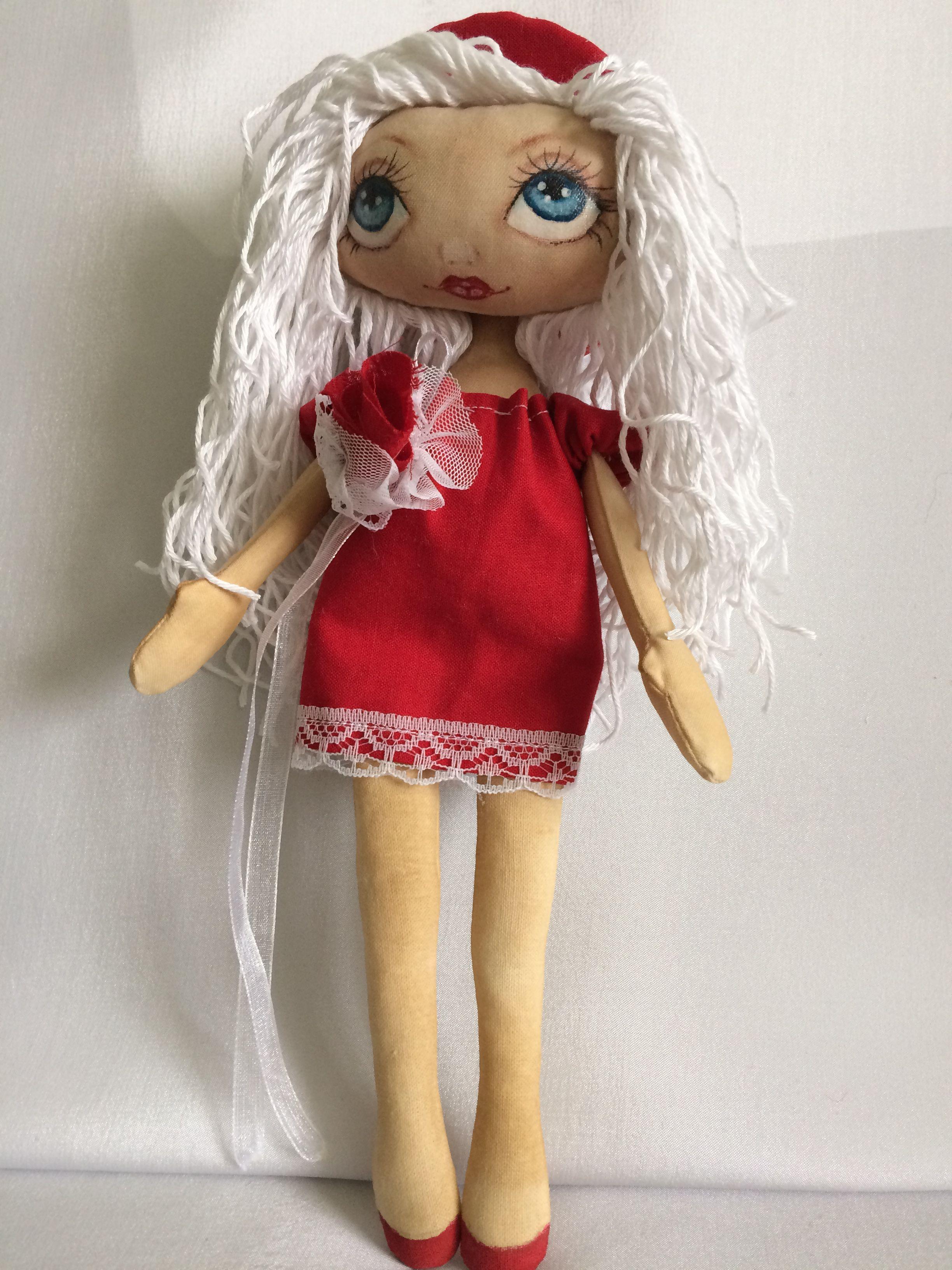 подарок кукла работа ручная текстильная