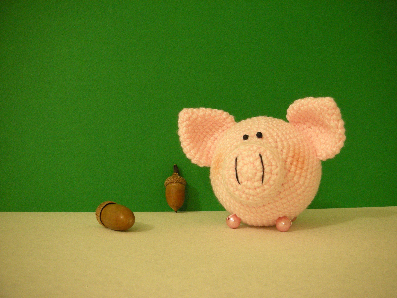 новый_год newyear год_свиньи handmade свиношарик свинка ручная_работа