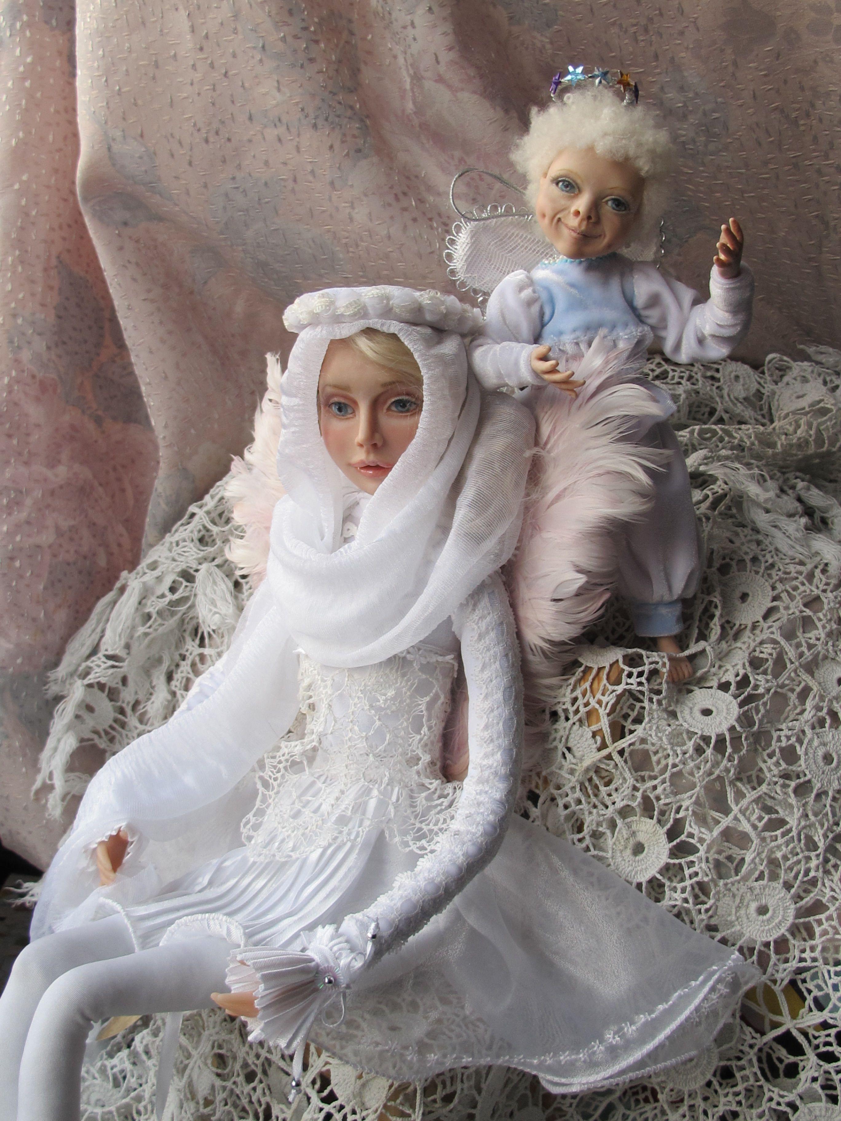 день кукла на существапортретная рождениясказочные ангелподарок ангелянварский