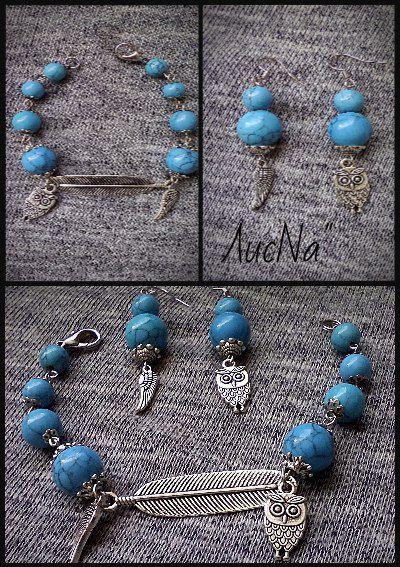 ручнаяработа браслет handmade украшения совы бижутерия